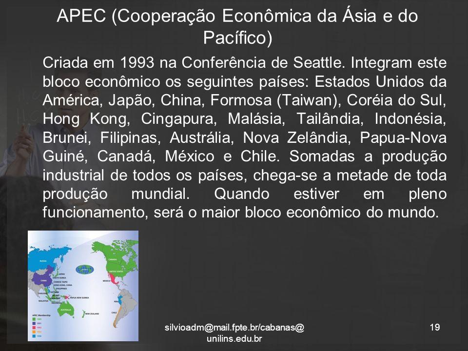 APEC (Cooperação Econômica da Ásia e do Pacífico)