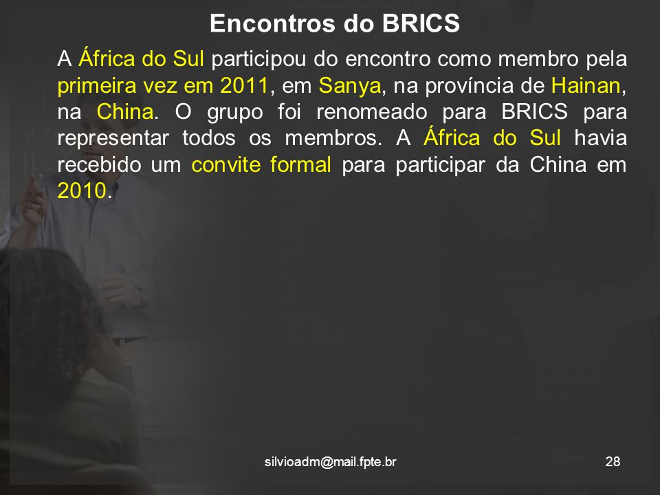 Encontros do BRICS