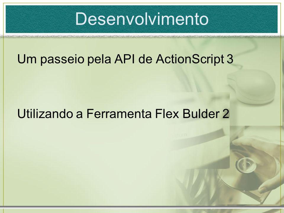 Desenvolvimento Um passeio pela API de ActionScript 3