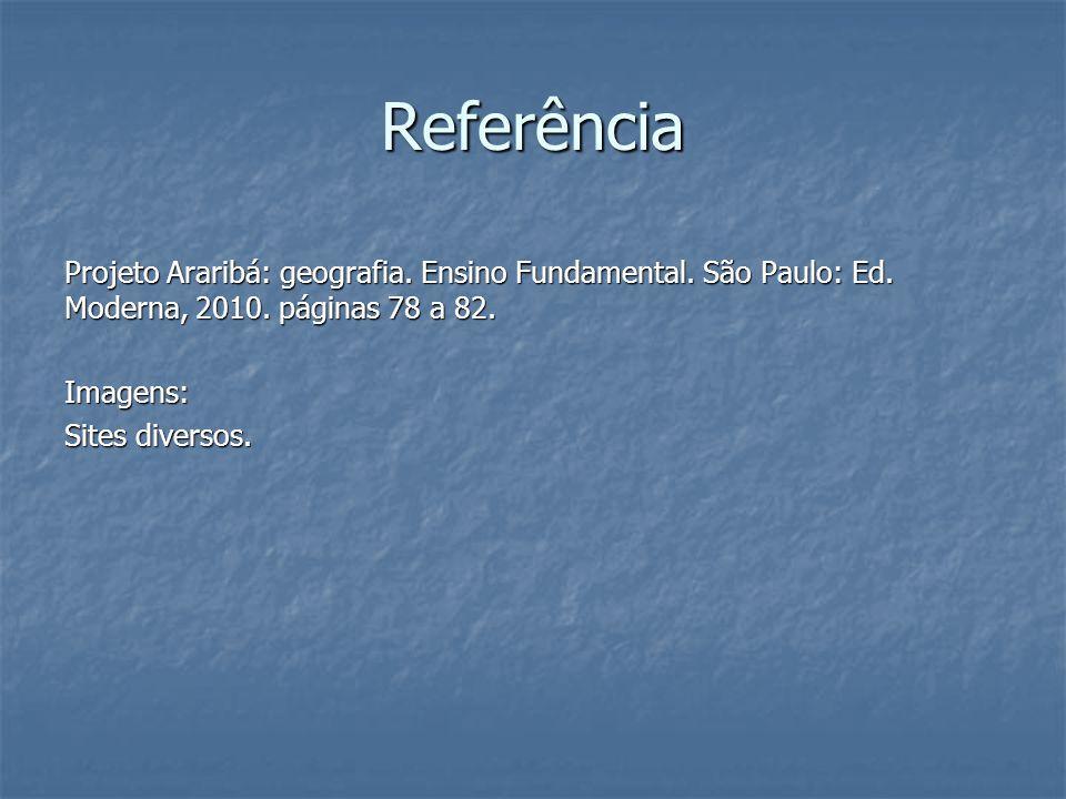 Referência Projeto Araribá: geografia. Ensino Fundamental.