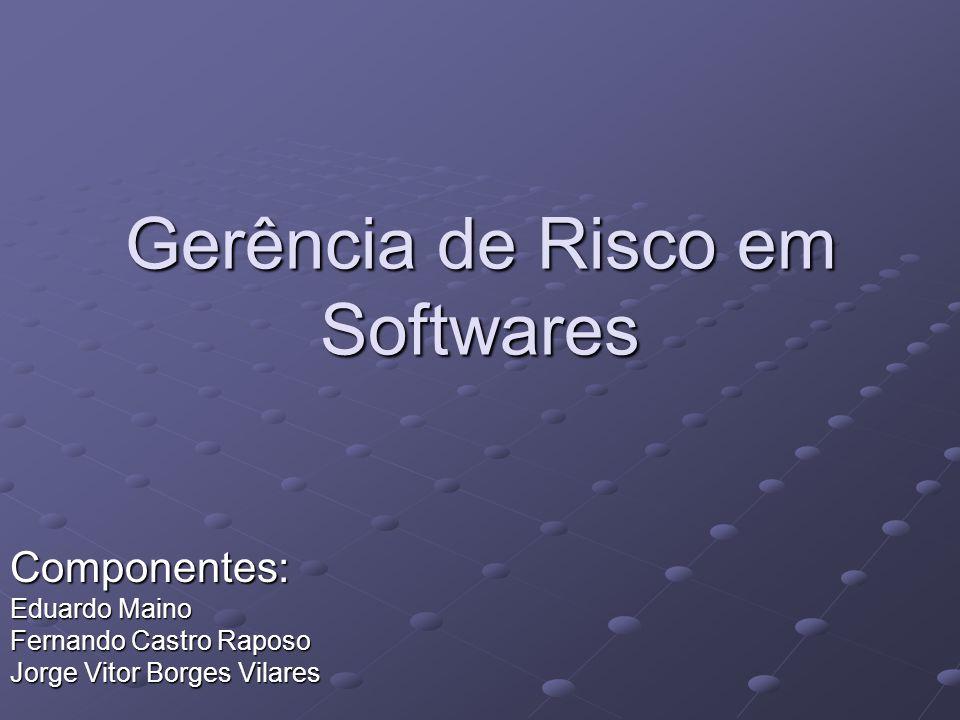 Gerência de Risco em Softwares