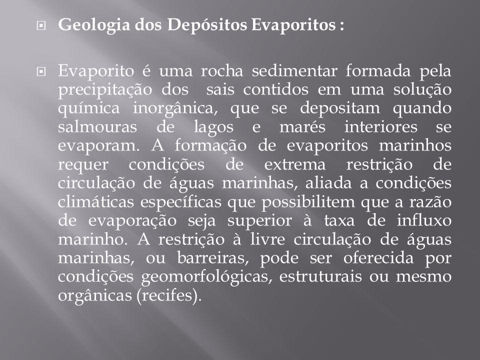 Geologia dos Depósitos Evaporitos :
