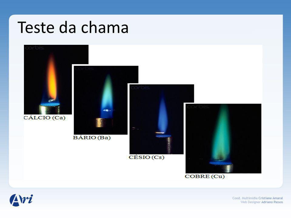 Teste da chama