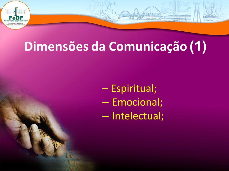Dimensões da Comunicação (1)