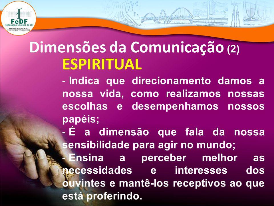 Dimensões da Comunicação (2)