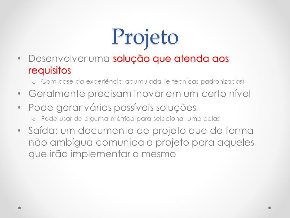 Projeto Desenvolver uma solução que atenda aos requisitos