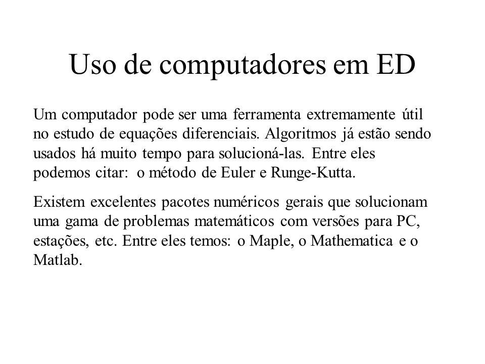Uso de computadores em ED
