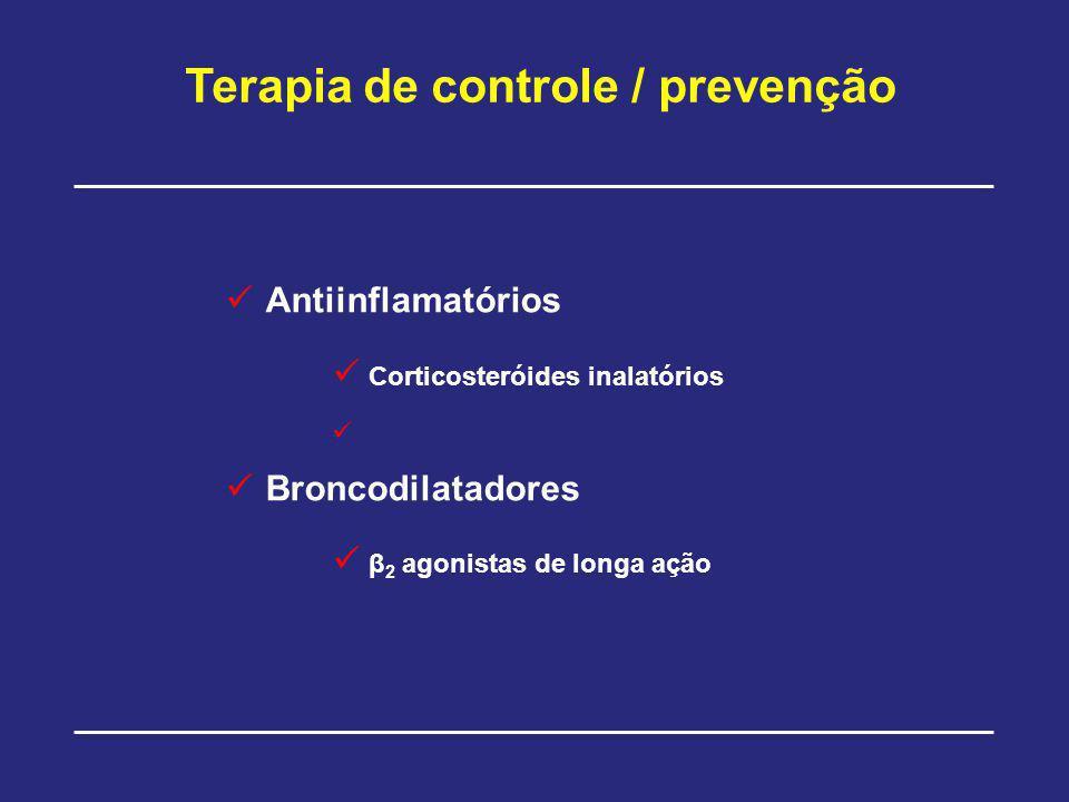 Terapia de controle / prevenção