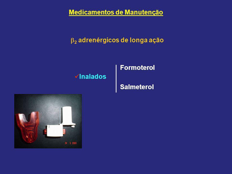 Medicamentos de Manutenção 2 adrenérgicos de longa ação