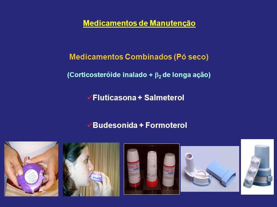 Medicamentos de Manutenção Medicamentos Combinados (Pó seco)