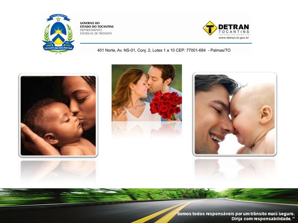''Somos todos responsáveis por um trânsito mais seguro.