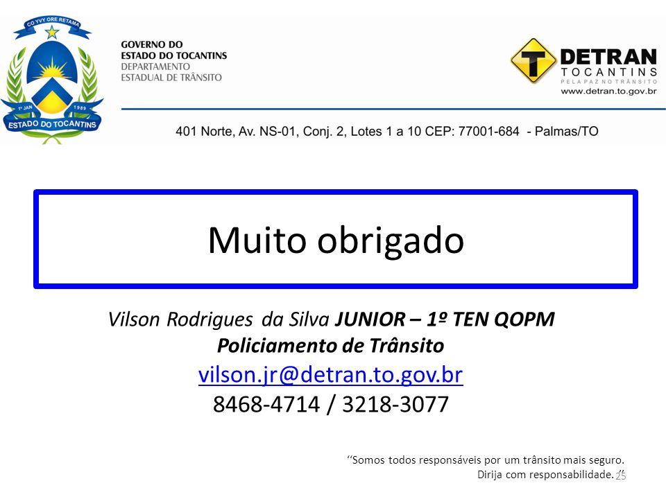 Muito obrigado vilson.jr@detran.to.gov.br 8468-4714 / 3218-3077