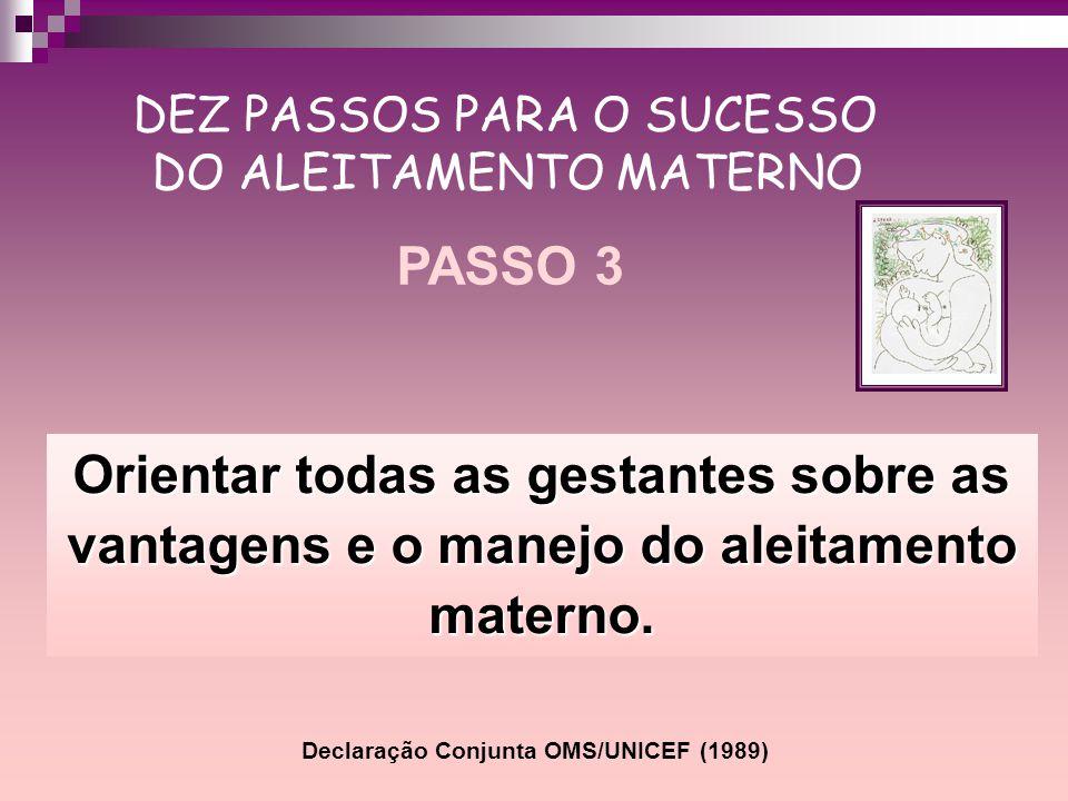 Declaração Conjunta OMS/UNICEF (1989)
