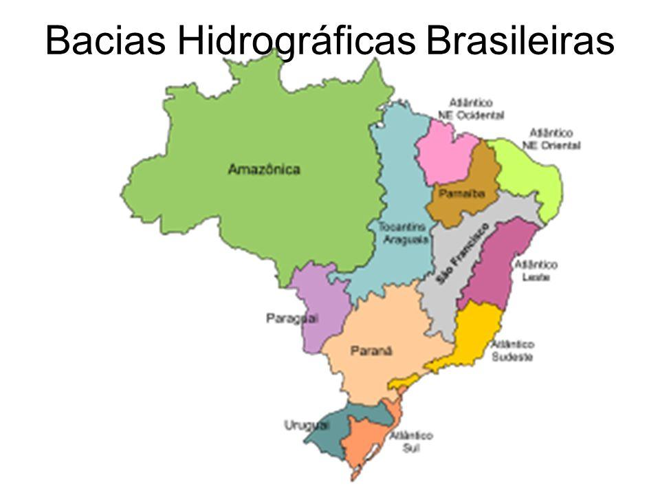 Bacias Hidrográficas Brasileiras