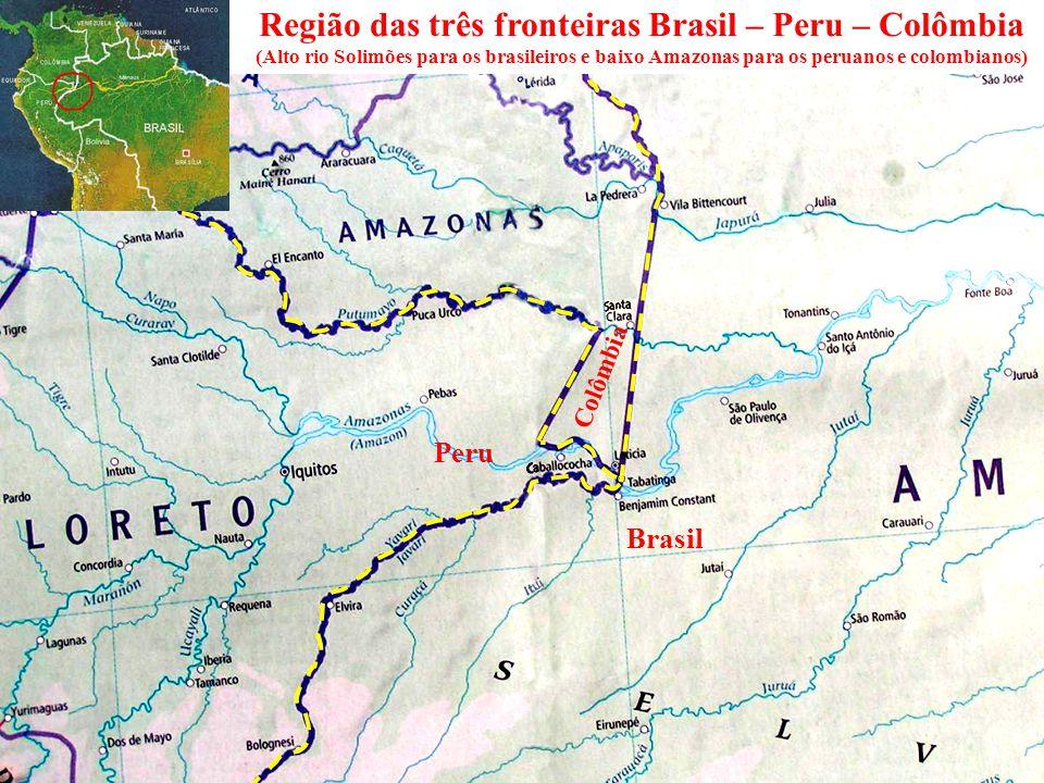 Região das três fronteiras Brasil – Peru – Colômbia