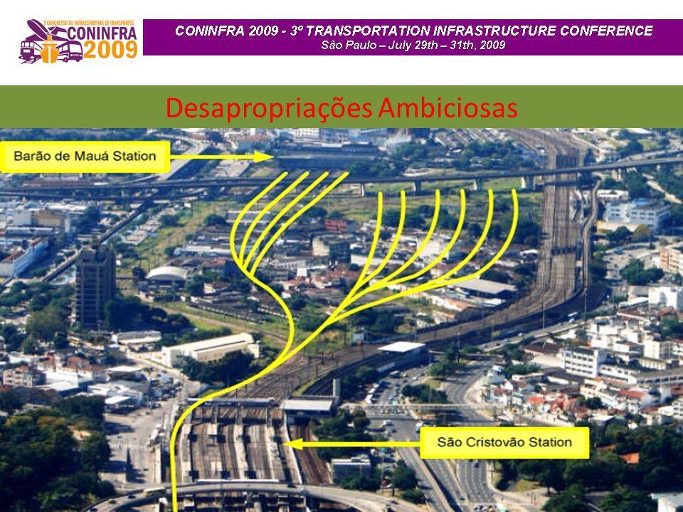 Desapropriações Ambiciosas