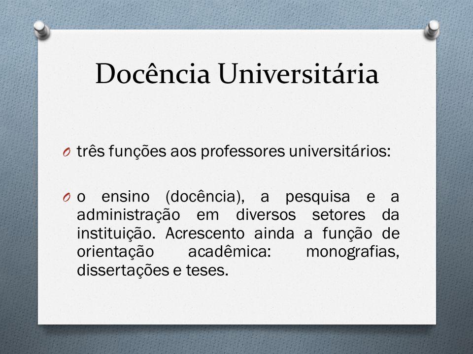Docência Universitária