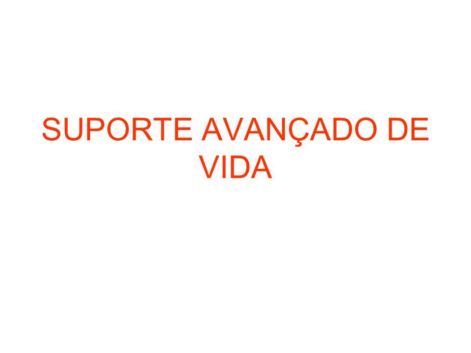 SUPORTE AVANÇADO DE VIDA