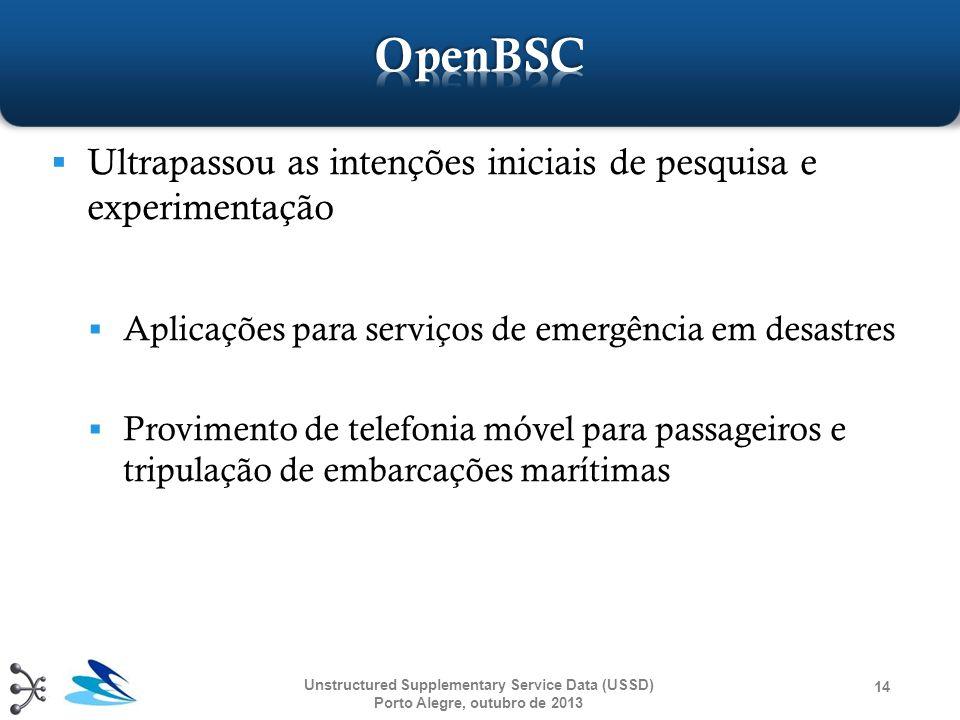 OpenBSC Ultrapassou as intenções iniciais de pesquisa e experimentação