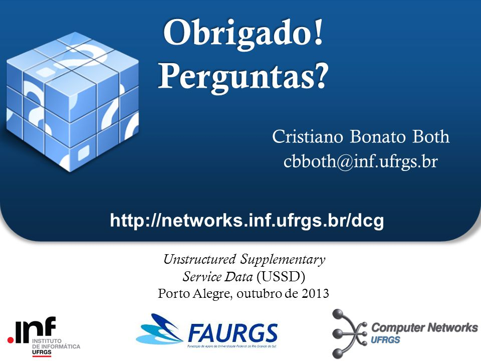 Cristiano Bonato Both cbboth@inf.ufrgs.br
