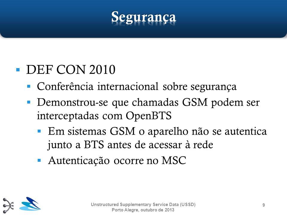Segurança DEF CON 2010 Conferência internacional sobre segurança