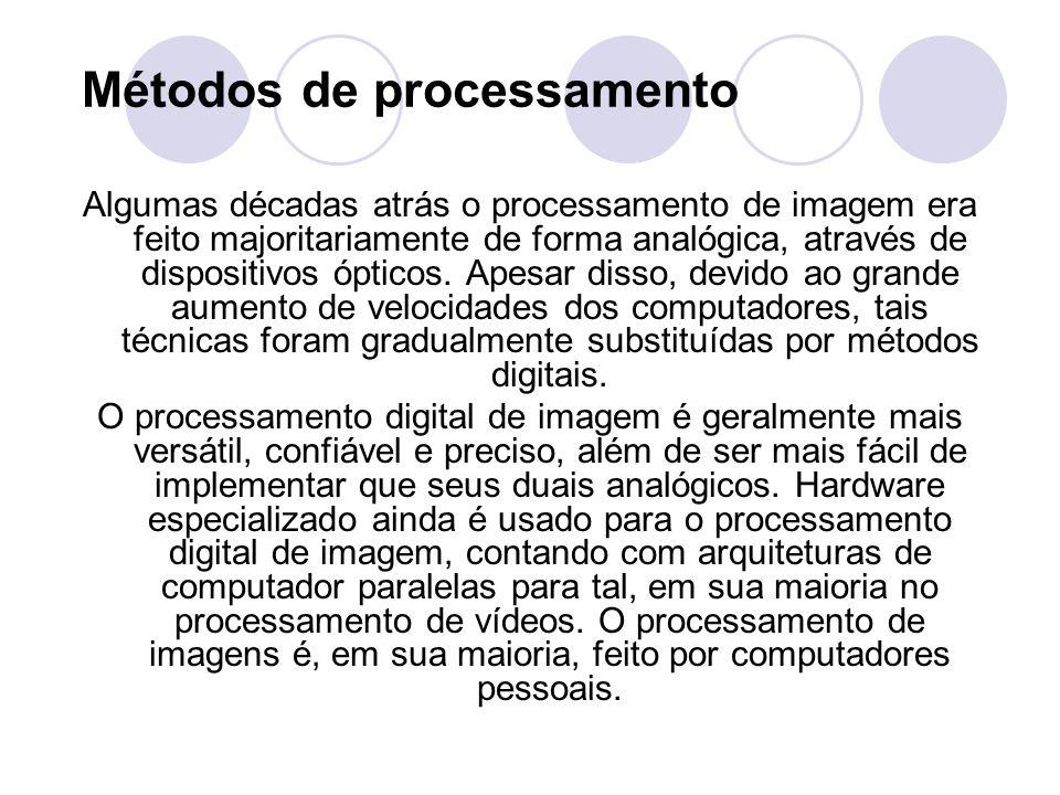 Métodos de processamento