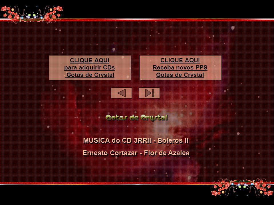 MUSICA do CD 3RRII - Boleros II Ernesto Cortazar - Flor de Azalea