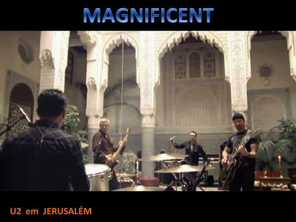 MAGNIFICENT U2 em JERUSALÉM