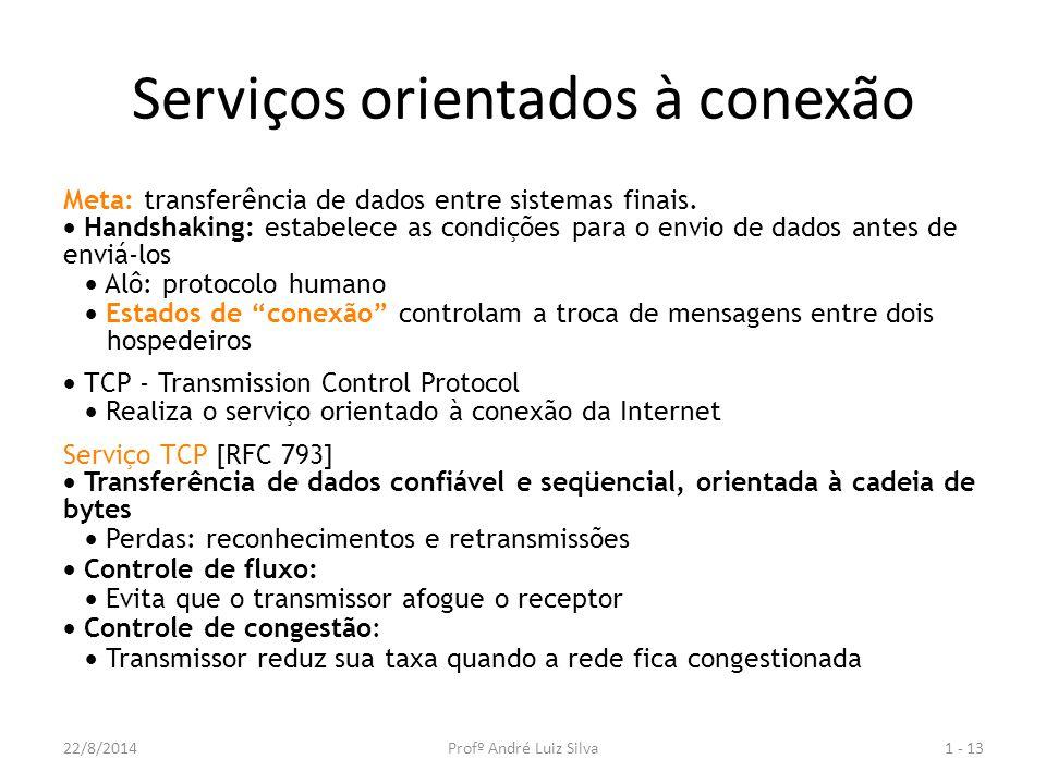Serviços orientados à conexão