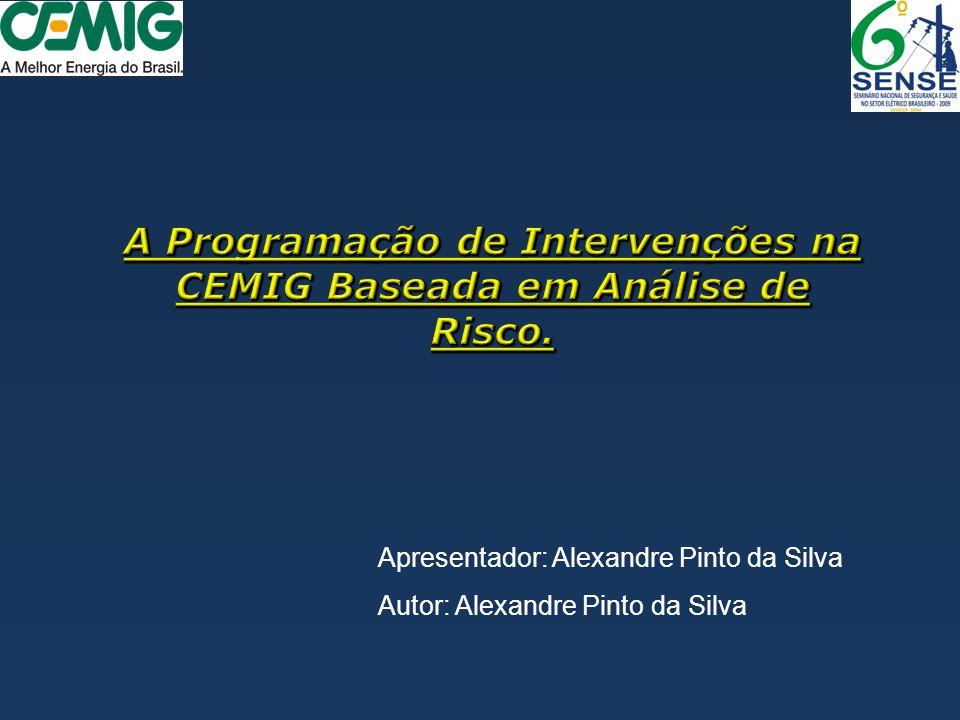 A Programação de Intervenções na CEMIG Baseada em Análise de Risco.