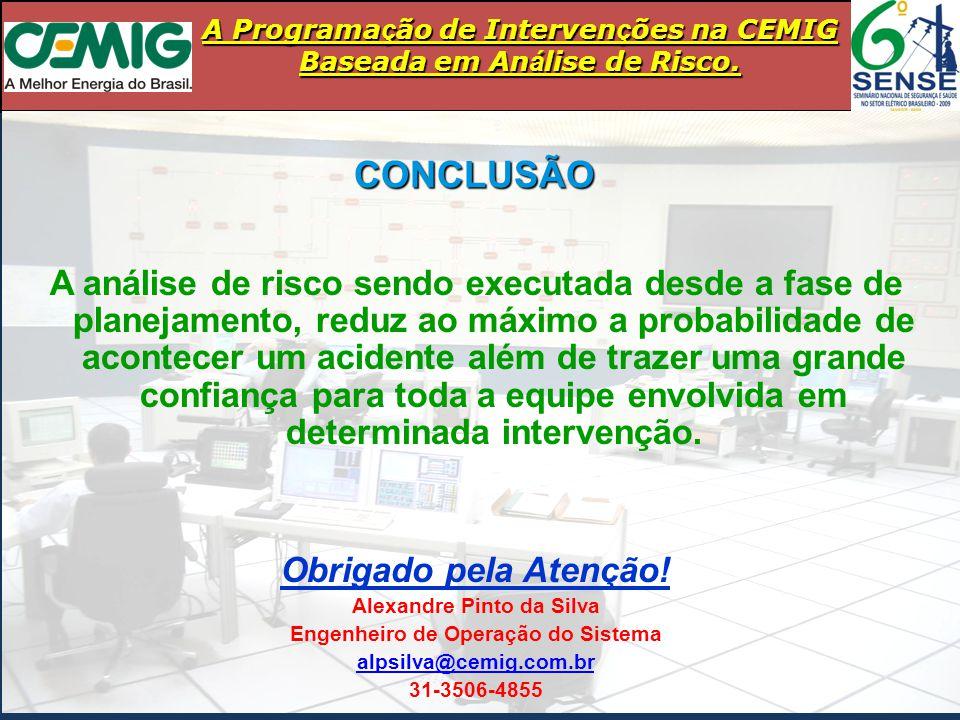 Alexandre Pinto da Silva Engenheiro de Operação do Sistema