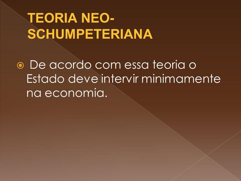TEORIA NEO- SCHUMPETERIANA