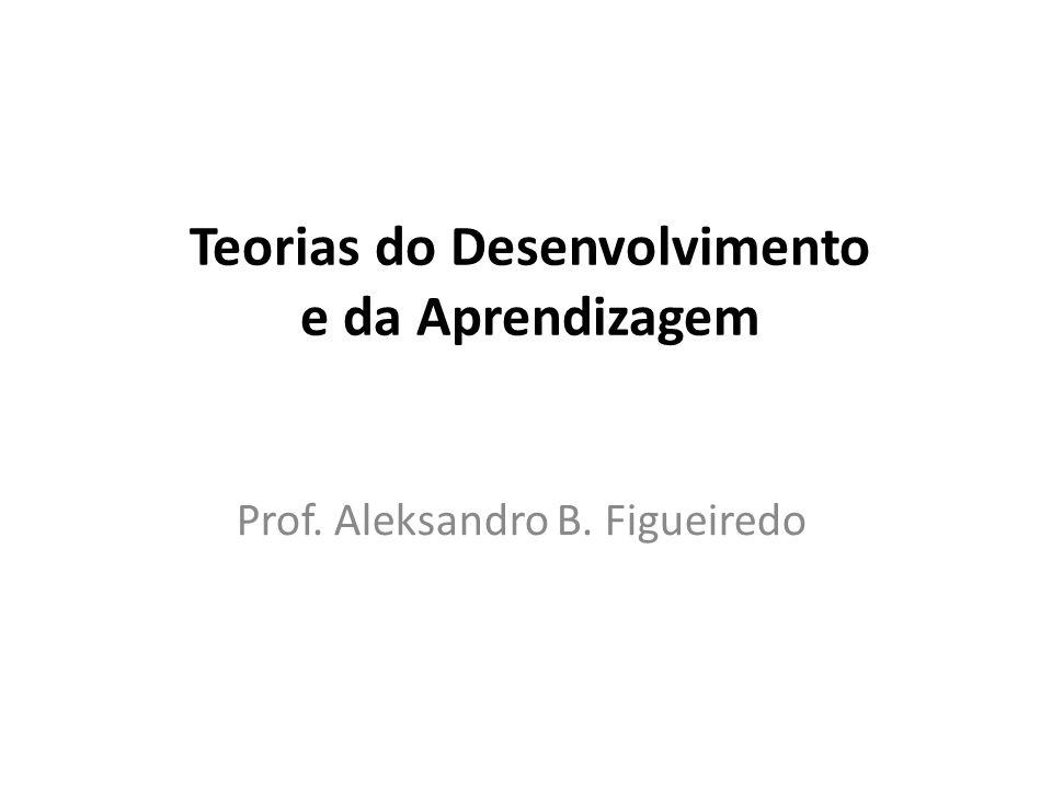 Teorias do Desenvolvimento e da Aprendizagem