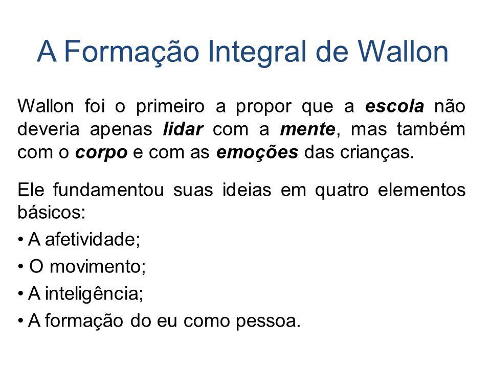 A Formação Integral de Wallon