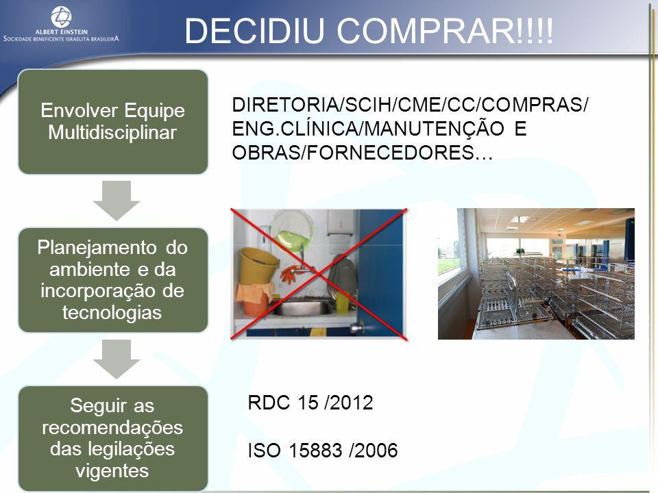 DECIDIU COMPRAR!!!! Envolver Equipe Multidisciplinar