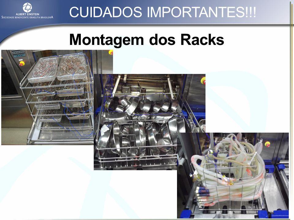 CUIDADOS IMPORTANTES!!! Montagem dos Racks