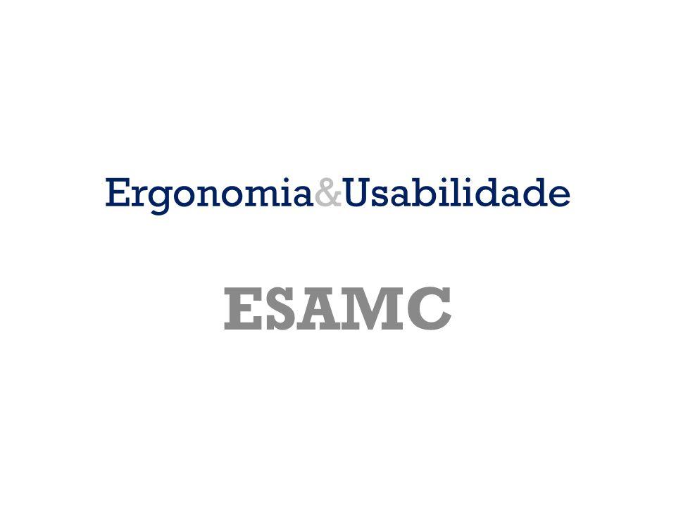 Ergonomia&Usabilidade
