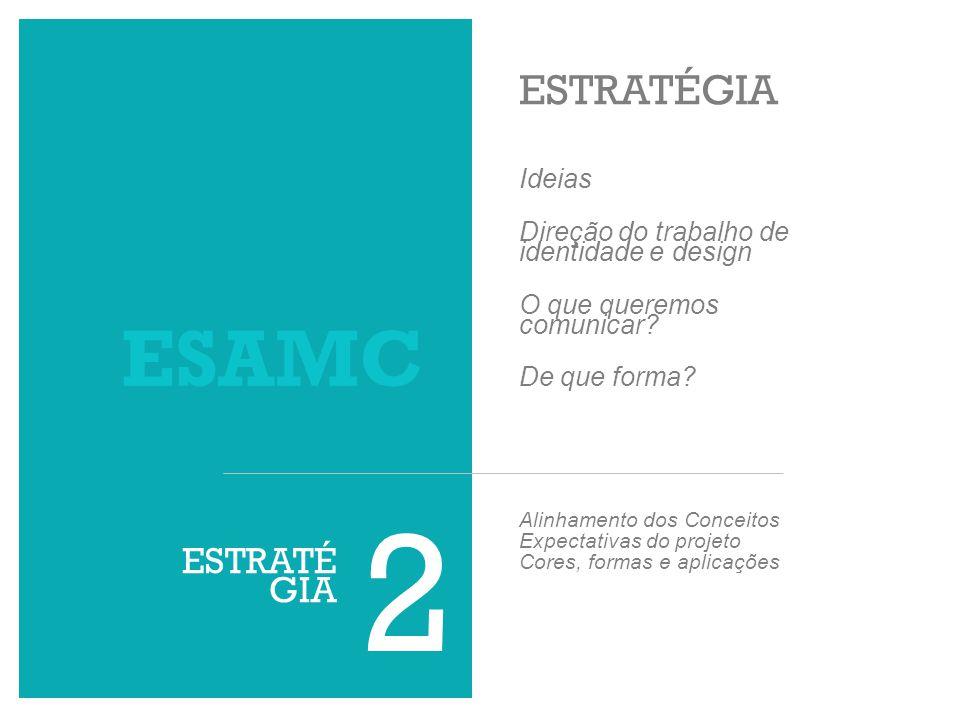 2 ESAMC ESTRATÉGIA ESTRATÉGIA Ideias