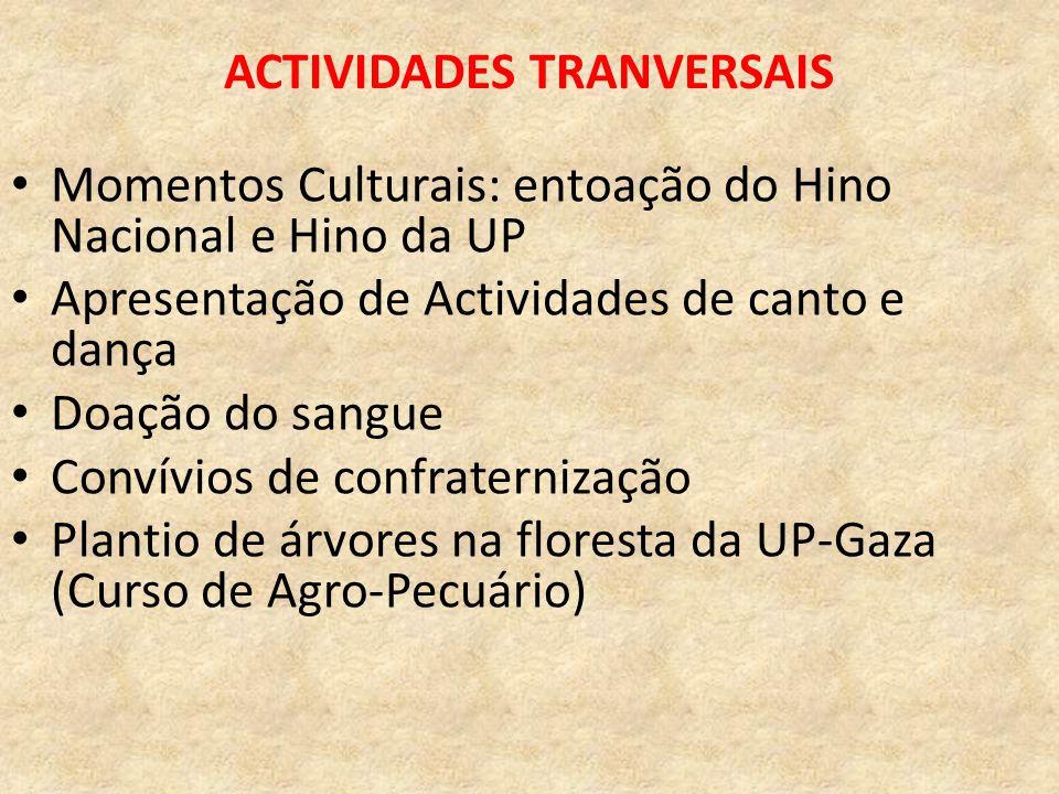 ACTIVIDADES TRANVERSAIS