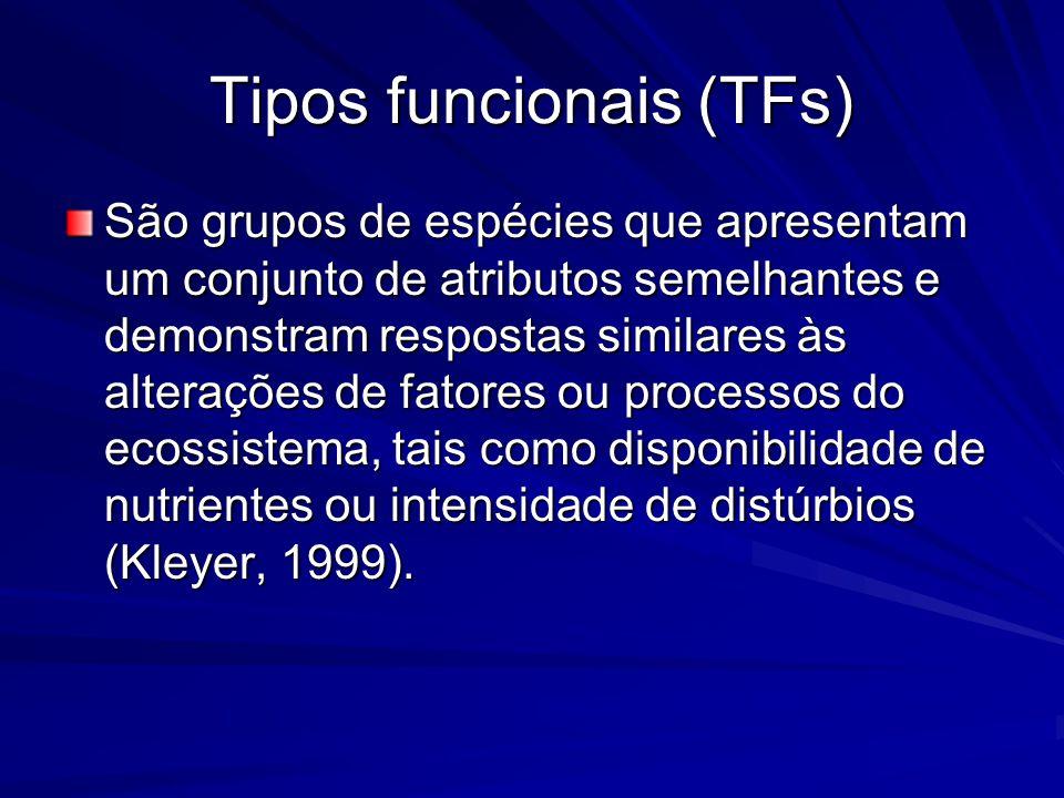 Tipos funcionais (TFs)