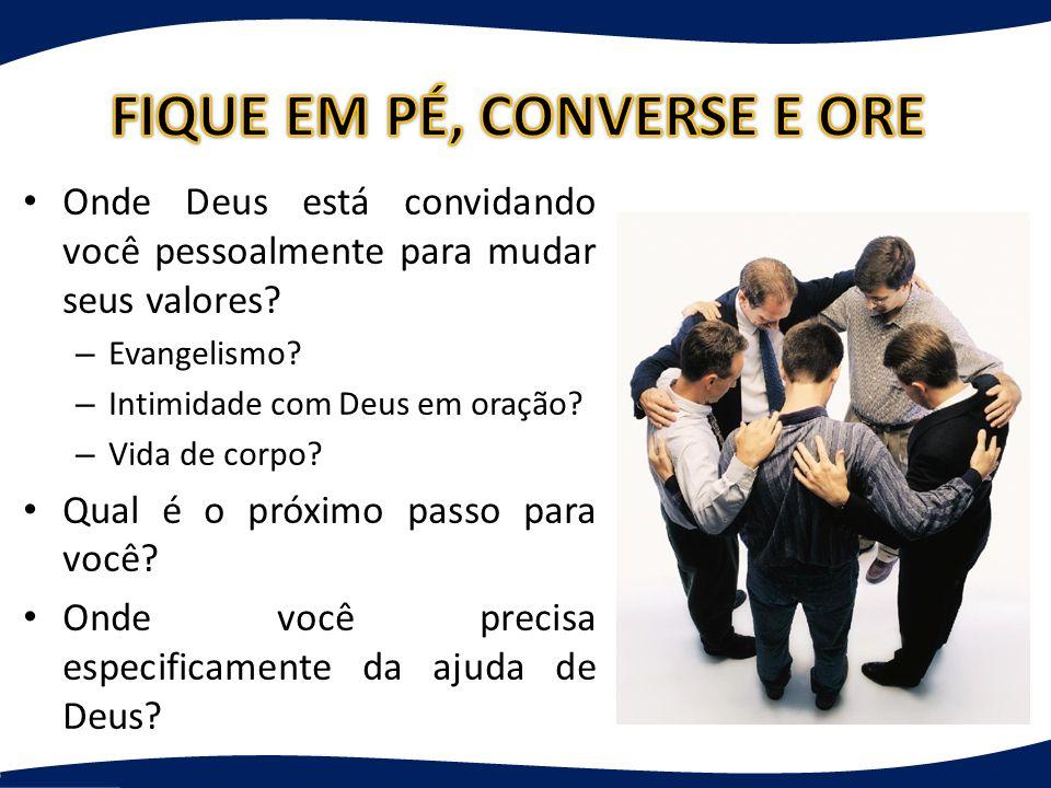 FIQUE EM PÉ, CONVERSE E ORE