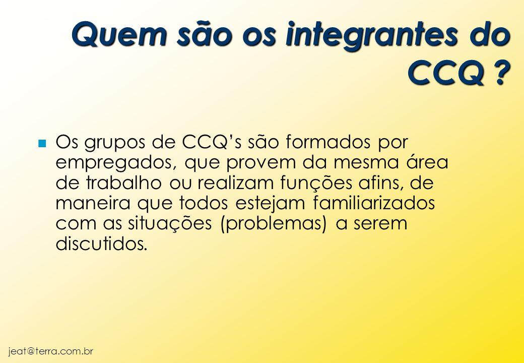 Quem são os integrantes do CCQ