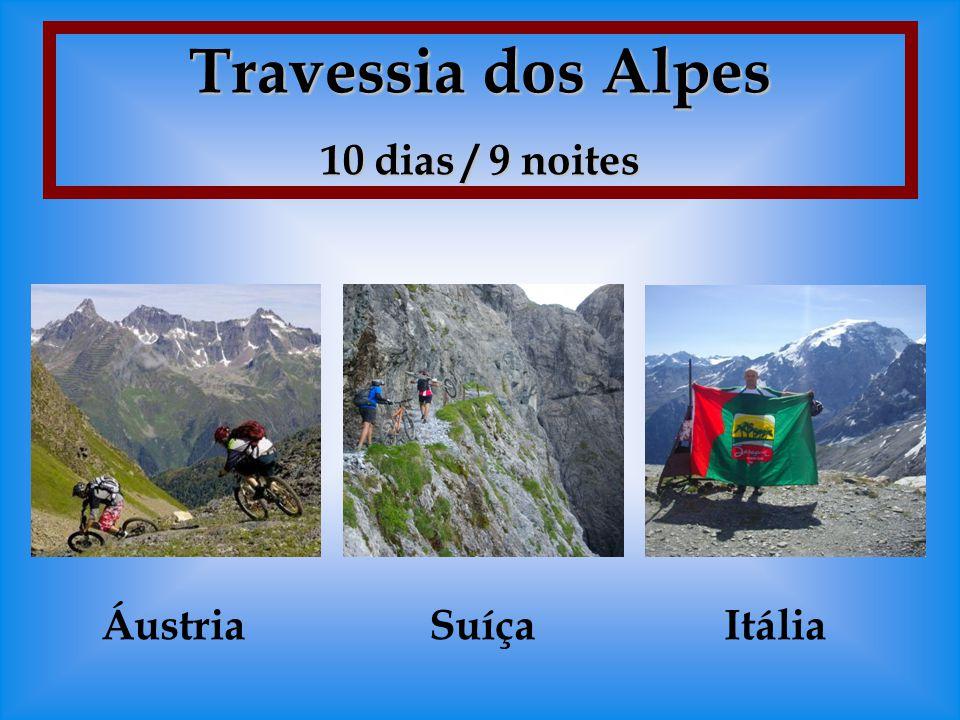 Travessia dos Alpes 10 dias / 9 noites Áustria Suíça Itália