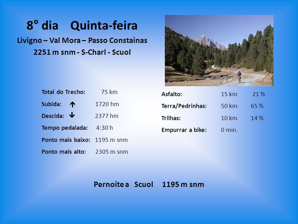 Livigno – Val Mora – Passo Constainas