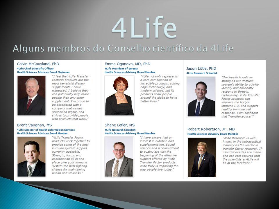 4Life Alguns membros do Conselho científico da 4Life