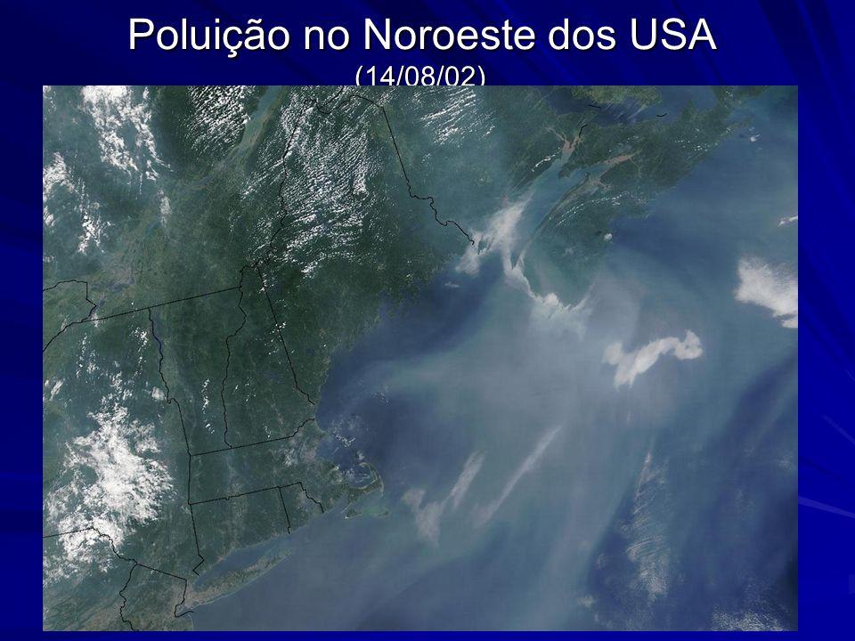 Poluição no Noroeste dos USA (14/08/02)