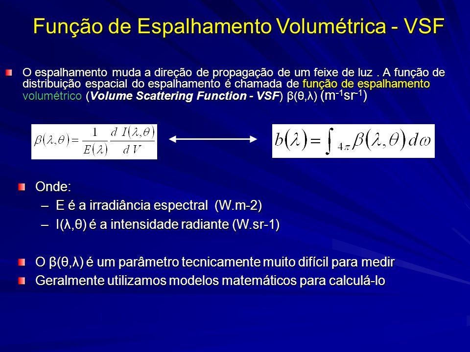 Função de Espalhamento Volumétrica - VSF