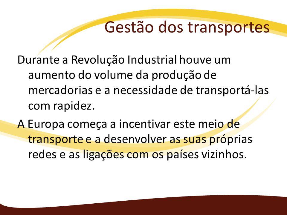 Gestão dos transportes