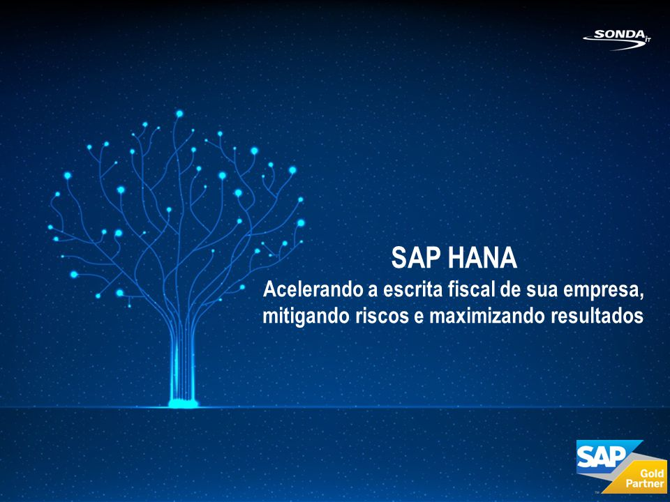 SAP HANA Acelerando a escrita fiscal de sua empresa, mitigando riscos e maximizando resultados