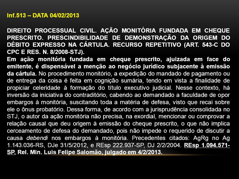 Inf.513 – DATA 04/02/2013